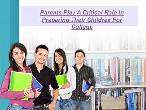 Parents Play a Critical Role in Preparing Their Children ...