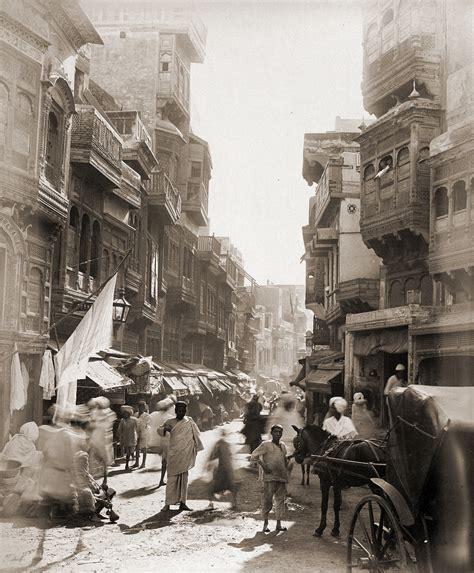 Fileold View Of Street In Lahorejpg  Wikimedia Commons