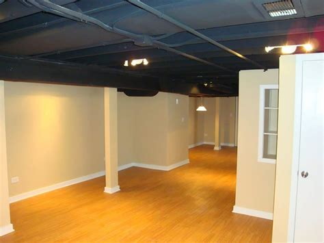 exposed basement ceiling ideas instant knowledge