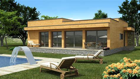 en kit moderne toit plat prix