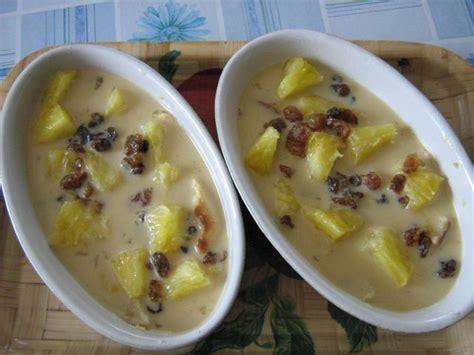 dessert r 233 gime a l ananas et raisins secs recette