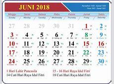 Template Kalender 2018 GRATIS untuk usaha percetakan anda