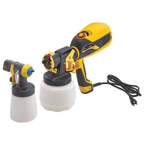shop wagner flexio 590 handheld hvlp paint sprayer at lowes