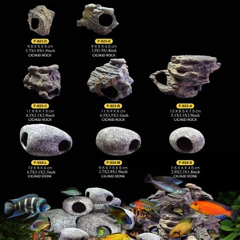 fish tank decorations for cichlids aquarium rock cave decoration for fish tank cichlids