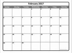 February 2017 Calendar Nz weekly calendar template