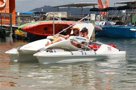 Catamaran Boat Hire Sunshine Coast by Funcats Electric Catamaran Picture Of Jetty 17 Boat