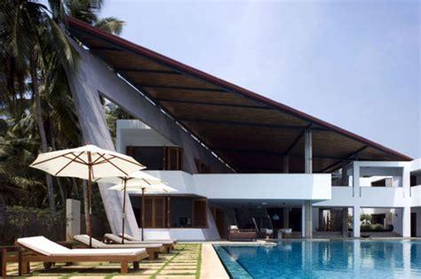 modern home overlooking the arabian sea coast the cliff