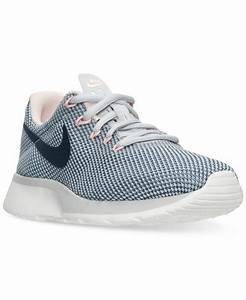 Nike Women's Tanjun Racer Casual Sneakers from Finish Line ...