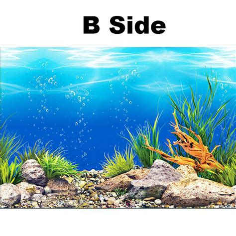 aliexpress buy new pvc sided aquarium background poster decoration fish tank wall