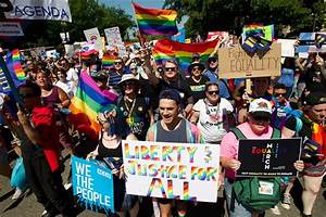At Pride Events, Protests Claim Prejudice and Exclusion