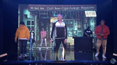 "Macklemore ""corner Store"" On 'the Tonight Show'"