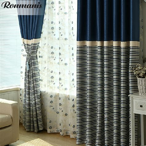 Navy And White Striped Curtains Blackout by Navy And White Striped Curtains Blackout Curtain
