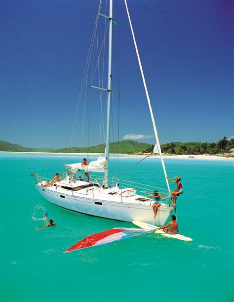 Catamaran Hire Jervis Bay by Windsurfing Picture Tour Whitsundays Australia