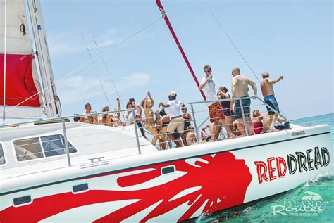 Catamaran Snorkeling Montego Bay Jamaica by Reggae Catamaran Cruise Montego Bay Island Routes