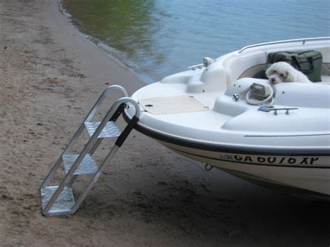 Dog Boat Rs Stairs by Swim Ladder For Pontoon Boat Best Ladder 2018