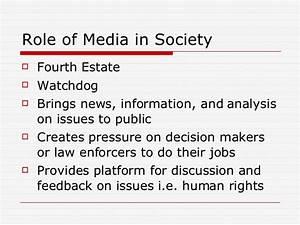 Media and Human RIghts Education