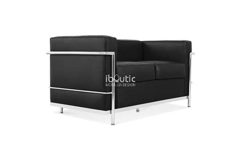 charles le corbusier canap 233 lc2 2 places iboutic