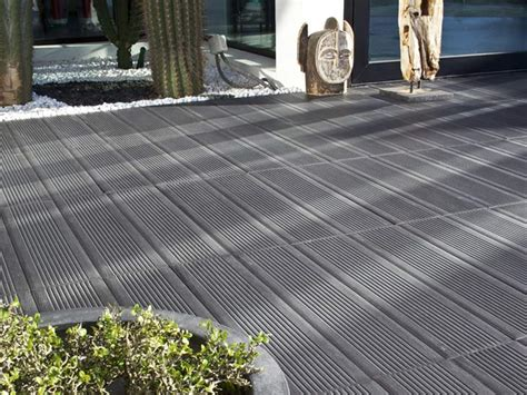 carrelage antid 233 rapant ext 233 rieur noir pour la terrasse leroy merlin photo 20 20 superbe