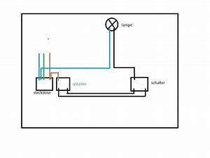Lampe Mit Bewegungsmelder Und Schalter : zwei wechselschalter ber steckdose und lampe verbinden 8 dr hte sind vorhanden elektrik ~ Markanthonyermac.com Haus und Dekorationen