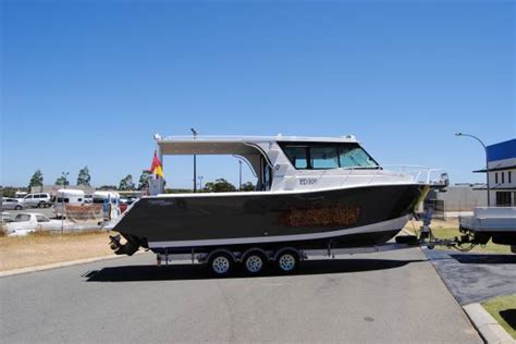 Twin Hull Boats For Sale Perth by New Preston Craft 8 5m Cruiser Power Boats Boats Online