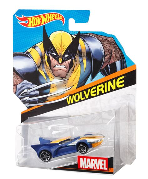 Hot Wheels® Marvel Character Cars  Wolverine  Shop Hot