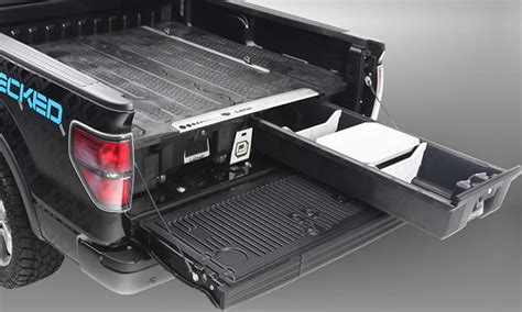 decked truck bed storage system snoriders
