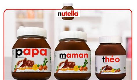 wanted un pot de nutella 224 votre nom