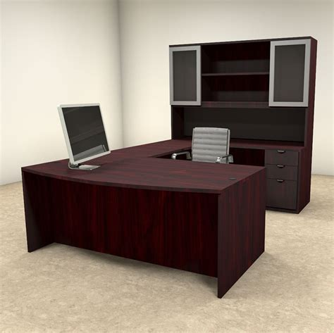 5pc U Shaped Modern Contemporary Executive Office Desk Set. Falling Asleep At Desk. Clamp Desk Lamp Swing Arm. Eames Desk Chair. What To Have On Your Desk. Cabin Rentals Table Rock Lake. Table With Umbrella. Secretary Computer Desk. 12 Base Cabinet With Drawers