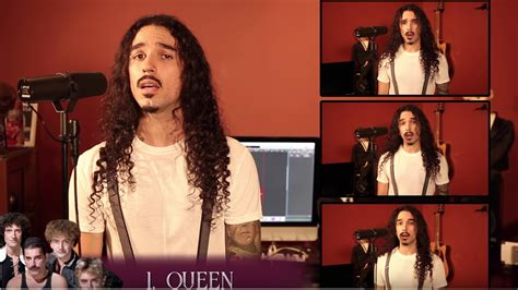 """Anthony Vincent Covers """"bohemian Rhapsody"""" In 42 Styles"""