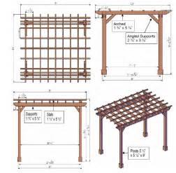 woodwork pergola building plans pdf plans
