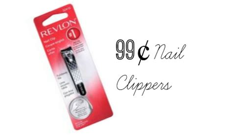 99¢ Revlon Nail Clippers