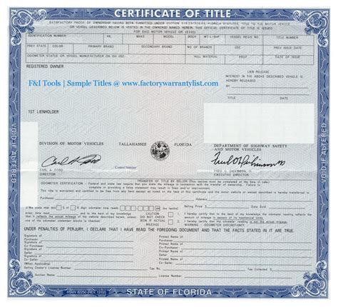 Do Boat Motors Have Titles In Illinois by Oklahoma Department Of Motor Vehicles Title Impremedia Net