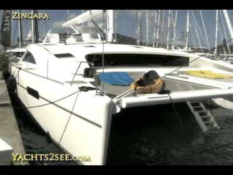 Zingara Catamaran For Sale by Charter Yacht Zingara Luxury Catamaran Vacation Youtube