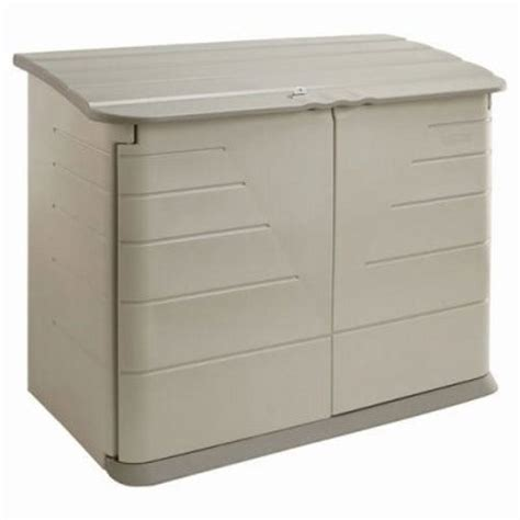 rubbermaid horizontal storage shed 38 cubic rub374701olvss