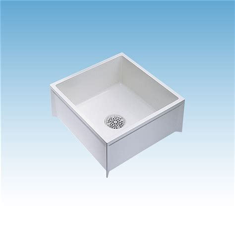 mustee 63m mop service basin 24x24x10 for 3 quot dwv