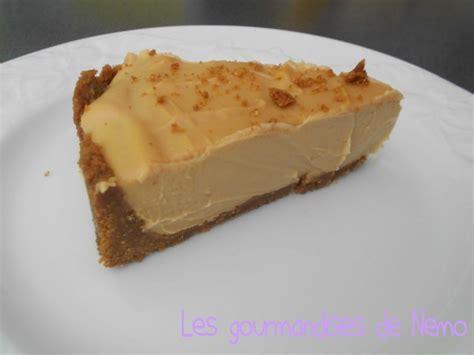 cheesecake sans cuisson 224 la p 226 te de sp 233 culoos et chocolat blanc les gourmandises de n 233 mo