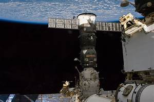 Spacewalkers and the ISS Progress 55 Resupply Vehicle | NASA