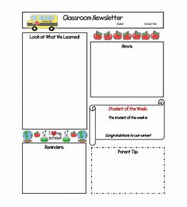 Classroom Newsletter Template – 9+ Free Word, PDF ...