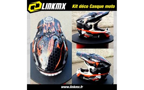 kit d 233 co casque moto 100 perso linkmx