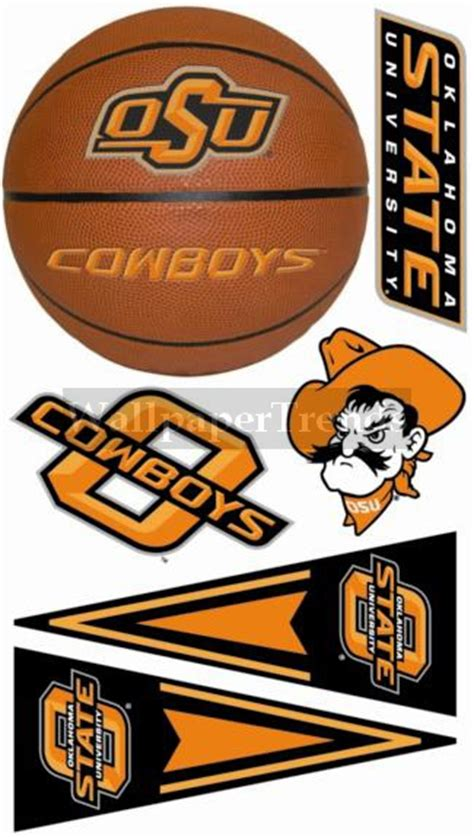 osu oklahoma state cowboys wall decals removable wall stickers free shipping available