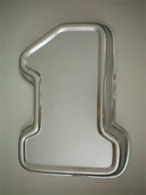 number cake pans smooth number cake pans 187 171 wilton number one no 1 1