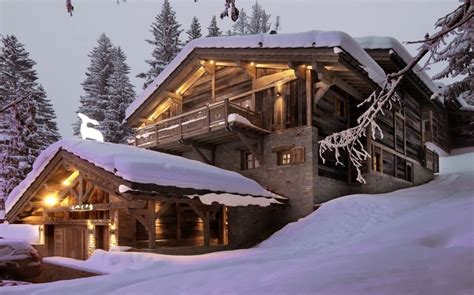 chalet grande roche in the alps