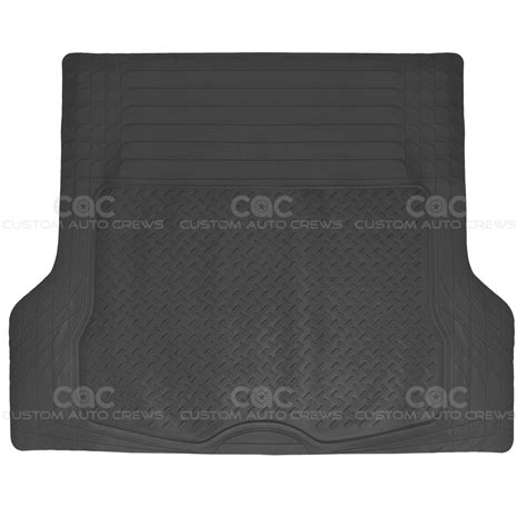1pc black heavy duty rubber car floor mats all weather