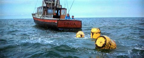 Jaws Fishing Boat Scene by Kirkham A Movie A Day Jaws List Number One For The