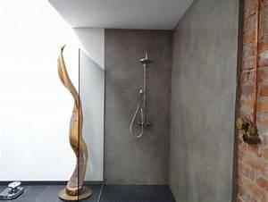 Fliesen Tapete Für Bad : fugenlose dusche wandverkleidung raum und m beldesign inspiration ~ Markanthonyermac.com Haus und Dekorationen