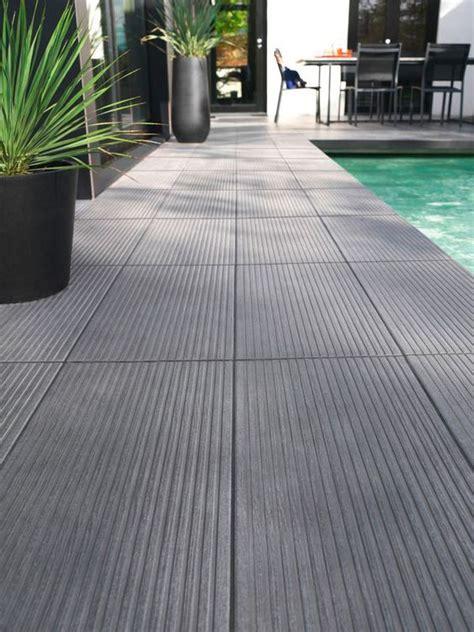 exterieur carrelage piscine terrasse colours loft anthracite pistoche parfait
