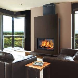 cheminee moderne design a bois