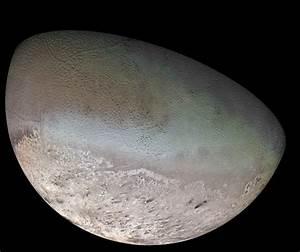 Neptune's moon of Triton