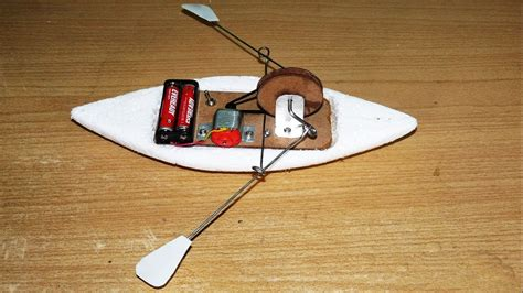 Toy Boat At Home by How To Make A Toy Rowing Boat Diy Boat Youtube