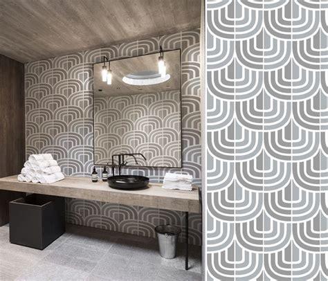 Papiers Peints Géométriques Pour Une Salle De Bain Blog